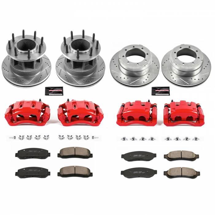 Power Stop - Z23 Evolution Sport Performance 1-Click Brake Kit w/Calipers   Power Stop (KC4032)