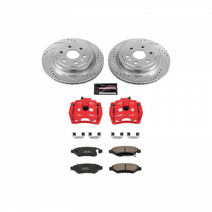 Power Stop - Z23 Evolution Sport Performance 1-Click Brake Kit w/Calipers | Power Stop (KC5543)