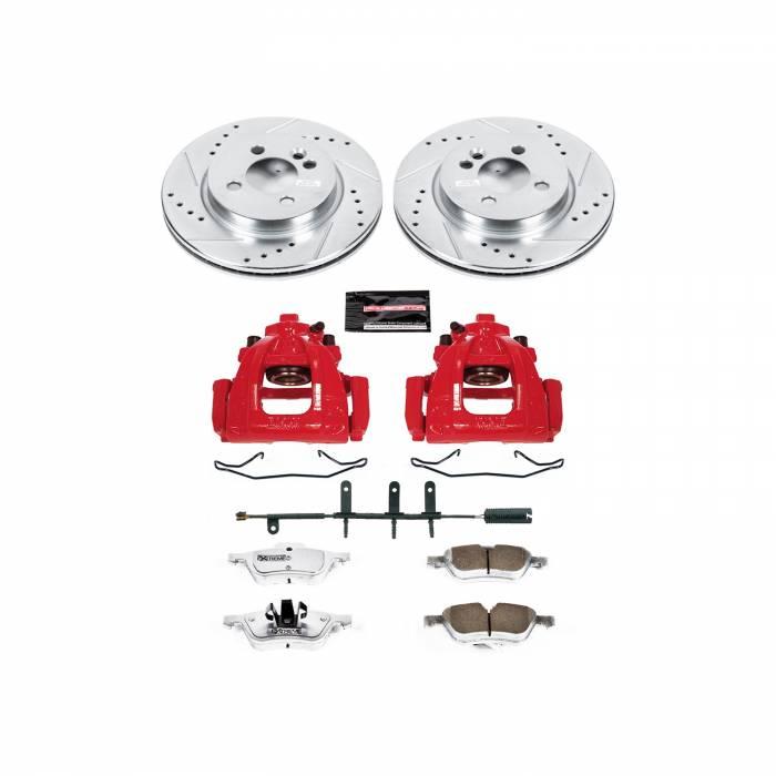 Power Stop - Z26 Extreme Street Warrior 1-Click Brake Kit w/Calipers   Power Stop (KC5780-26)