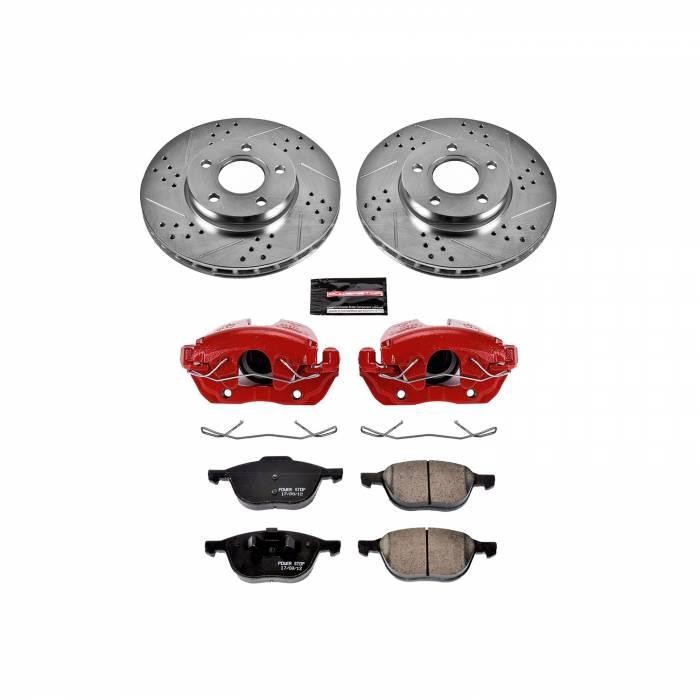 Power Stop - Z23 Evolution Sport Performance 1-Click Brake Kit w/Calipers | Power Stop (KC5976A)