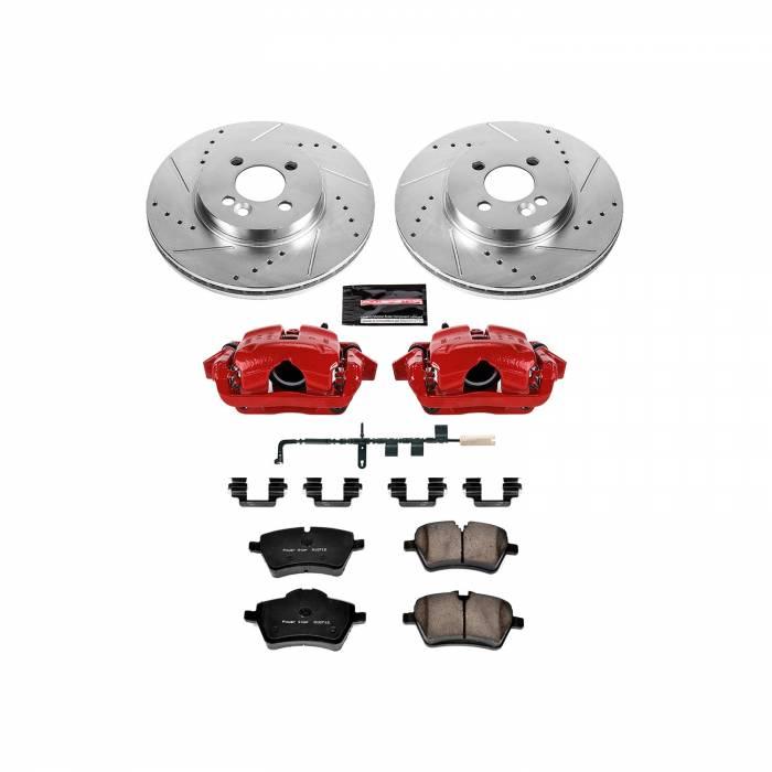 Power Stop - Z23 Evolution Sport Performance 1-Click Brake Kit w/Calipers | Power Stop (KC6068)