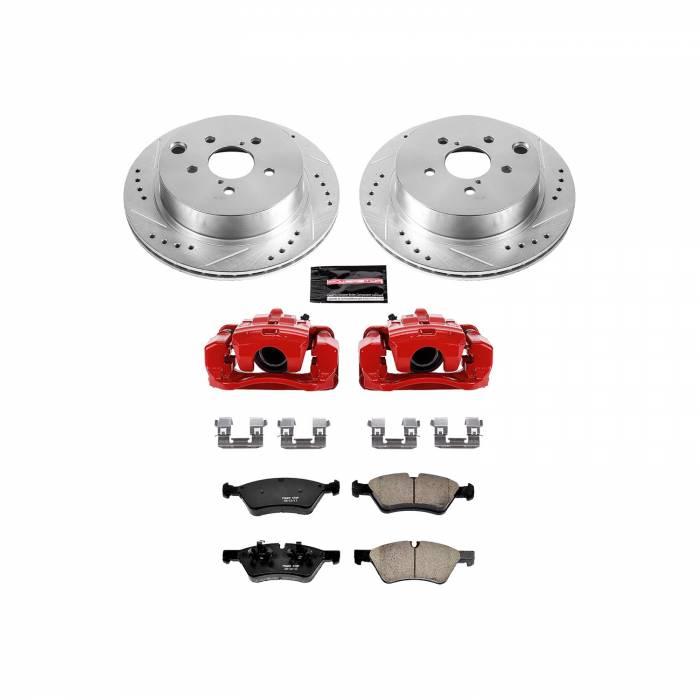 Power Stop - Z23 Evolution Sport Performance 1-Click Brake Kit w/Calipers | Power Stop (KC6978)