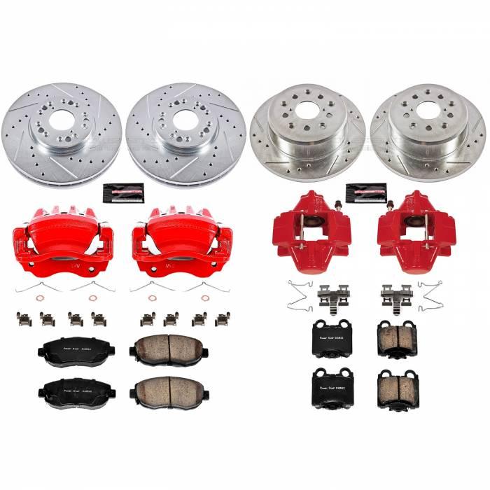 Power Stop - Z23 Evolution Sport Performance 1-Click Brake Kit w/Calipers | Power Stop (KC1079)