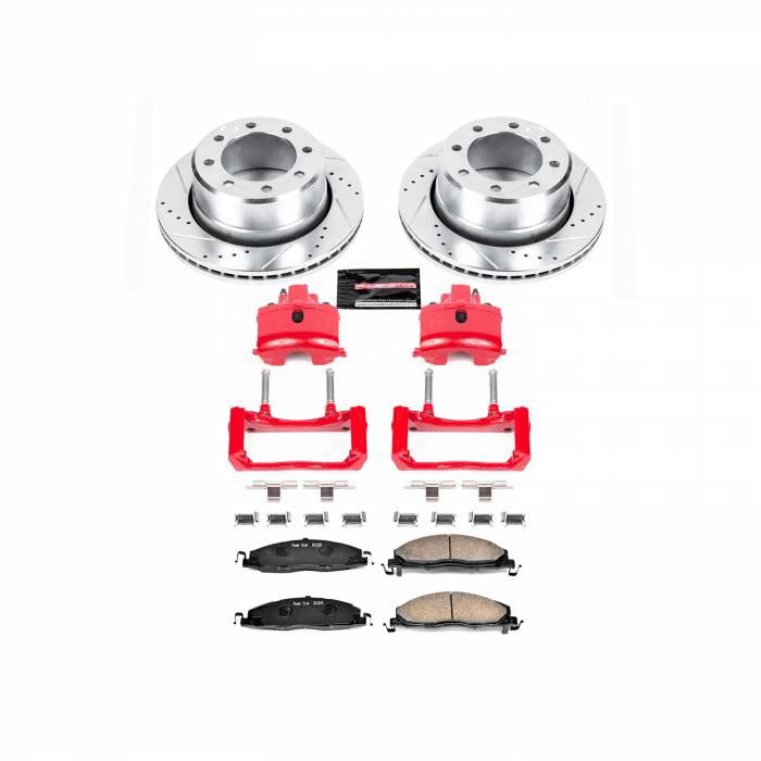Power Stop - Z23 Evolution Sport Performance 1-Click Brake Kit w/Calipers | Power Stop (KC5487B)