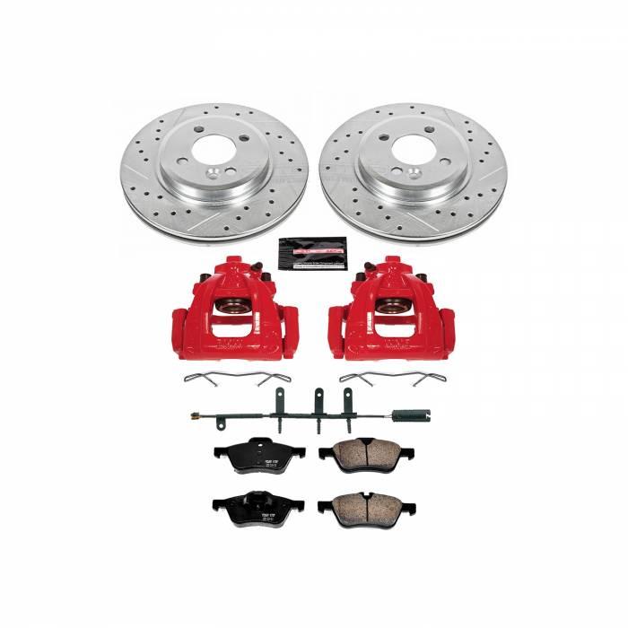 Power Stop - Z23 Evolution Sport Performance 1-Click Brake Kit w/Calipers   Power Stop (KC5724)