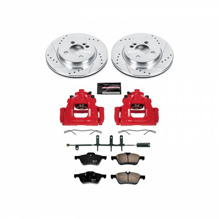 Power Stop - Z23 Evolution Sport Performance 1-Click Brake Kit w/Calipers   Power Stop (KC5780)
