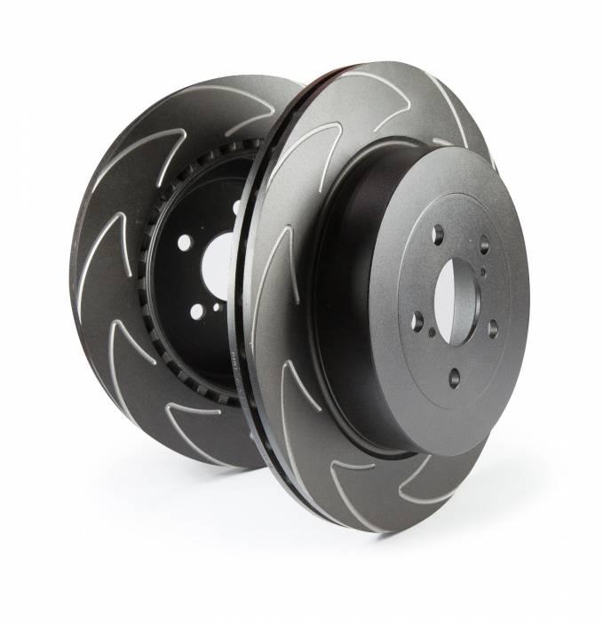 EBC Brakes - BSD Series Sport Rotor w/Ultra Quiet V Slot Configuration | EBC Brakes (BSD7743)