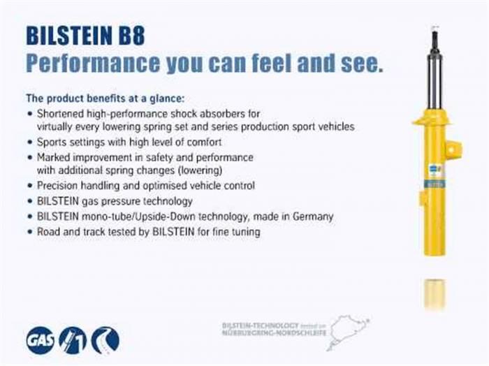 Bilstein Shocks - B8 5160 Shock Absorber | Bilstein Shocks (25-268645)
