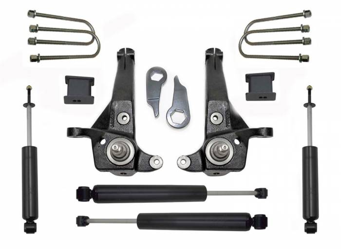 MaxTrac Suspension - Suspension Lift Kit w/Shocks | MaxTrac Suspension (K883053C)