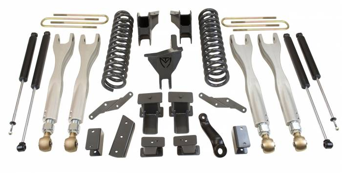MaxTrac Suspension - Suspension Lift Kit w/Shocks | MaxTrac Suspension (K943341L)