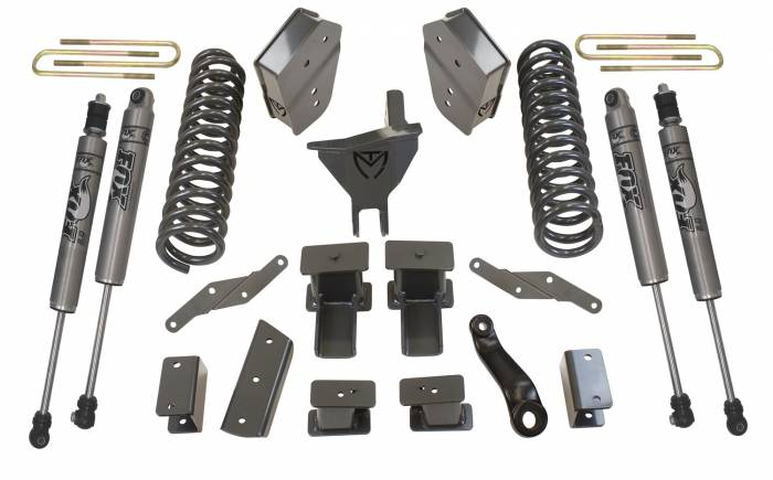 MaxTrac Suspension - Suspension Lift Kit w/Shocks | MaxTrac Suspension (K943362F)
