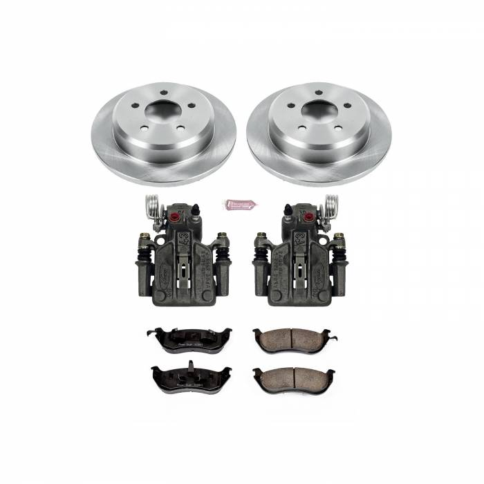 Power Stop - Autospecialty By Power Stop 1-Click OE Replacement Brake Kit w/Calipers   Power Stop (KCOE1331A)