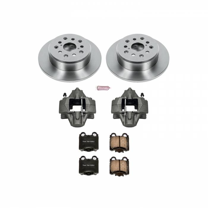 Power Stop - Autospecialty By Power Stop 1-Click OE Replacement Brake Kit w/Calipers | Power Stop (KCOE1149)