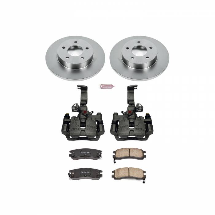 Power Stop - Autospecialty By Power Stop 1-Click OE Replacement Brake Kit w/Calipers | Power Stop (KCOE1526F)