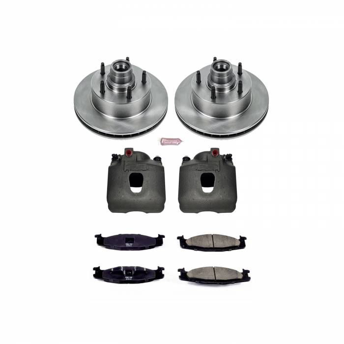 Power Stop - Autospecialty By Power Stop 1-Click OE Replacement Brake Kit w/Calipers   Power Stop (KCOE1831)