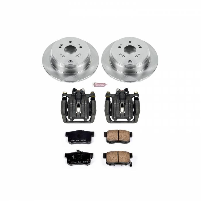 Power Stop - Autospecialty By Power Stop 1-Click OE Replacement Brake Kit w/Calipers   Power Stop (KCOE206A)