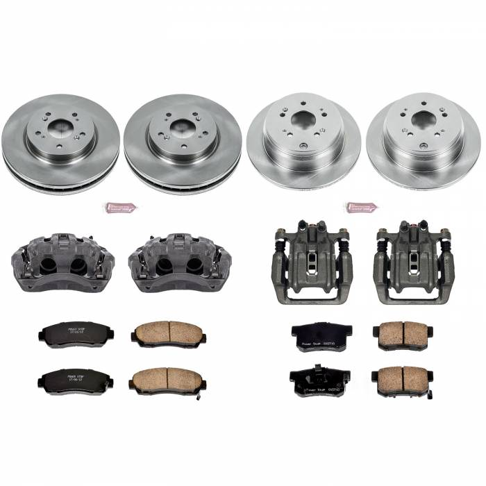 Power Stop - Autospecialty By Power Stop 1-Click OE Replacement Brake Kit w/Calipers   Power Stop (KCOE229)
