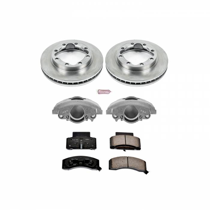 Power Stop - Autospecialty By Power Stop 1-Click OE Replacement Brake Kit w/Calipers   Power Stop (KCOE1992)