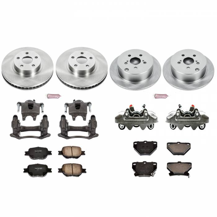 Power Stop - Autospecialty By Power Stop 1-Click OE Replacement Brake Kit w/Calipers | Power Stop (KCOE2314)