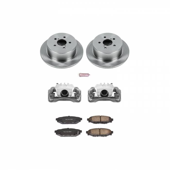 Power Stop - Autospecialty By Power Stop 1-Click OE Replacement Brake Kit w/Calipers   Power Stop (KCOE4632A)