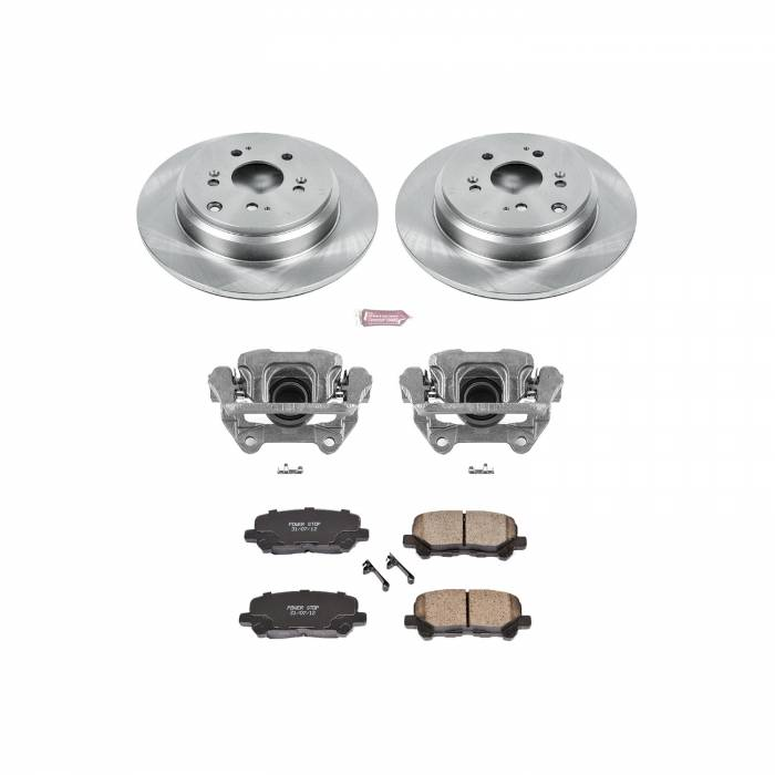 Power Stop - Autospecialty By Power Stop 1-Click OE Replacement Brake Kit w/Calipers | Power Stop (KCOE4685)