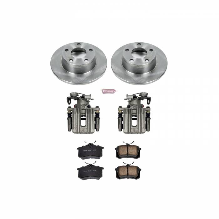 Power Stop - Autospecialty By Power Stop 1-Click OE Replacement Brake Kit w/Calipers | Power Stop (KCOE4845)