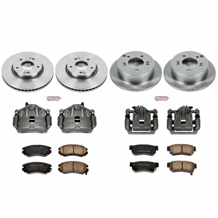 Power Stop - Autospecialty By Power Stop 1-Click OE Replacement Brake Kit w/OE Calipers | Power Stop (KCOE4449B)