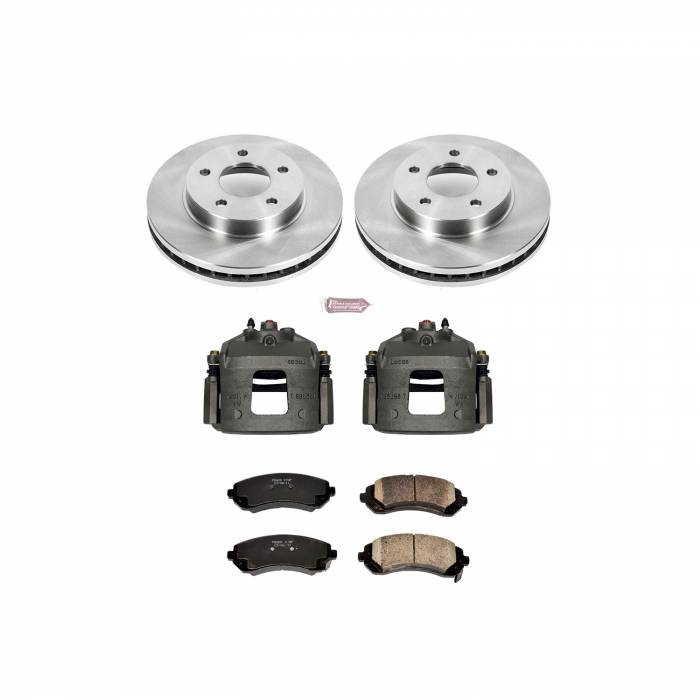 Power Stop - Autospecialty By Power Stop 1-Click OE Replacement Brake Kit w/Calipers | Power Stop (KCOE5233)