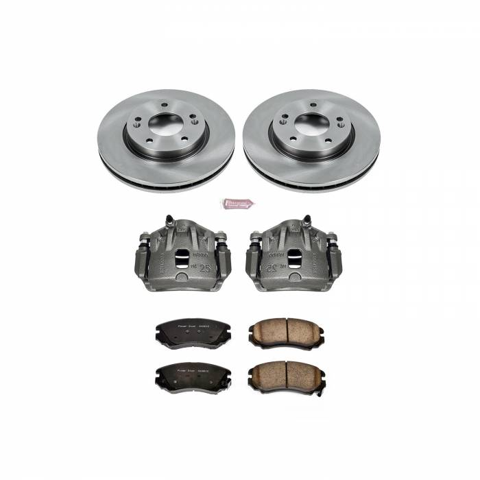 Power Stop - Autospecialty By Power Stop 1-Click OE Replacement Brake Kit w/Calipers   Power Stop (KCOE5291)