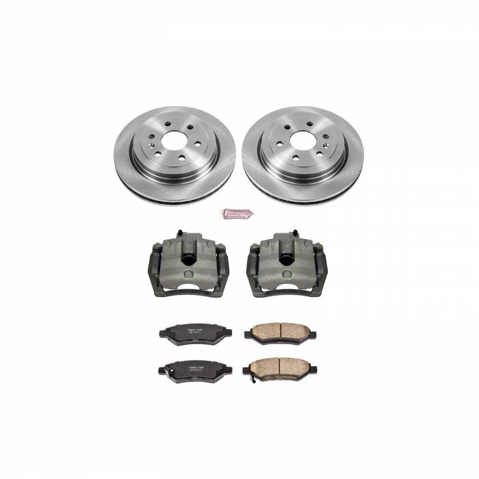 Power Stop - Autospecialty By Power Stop 1-Click OE Replacement Brake Kit w/Calipers | Power Stop (KCOE5543)