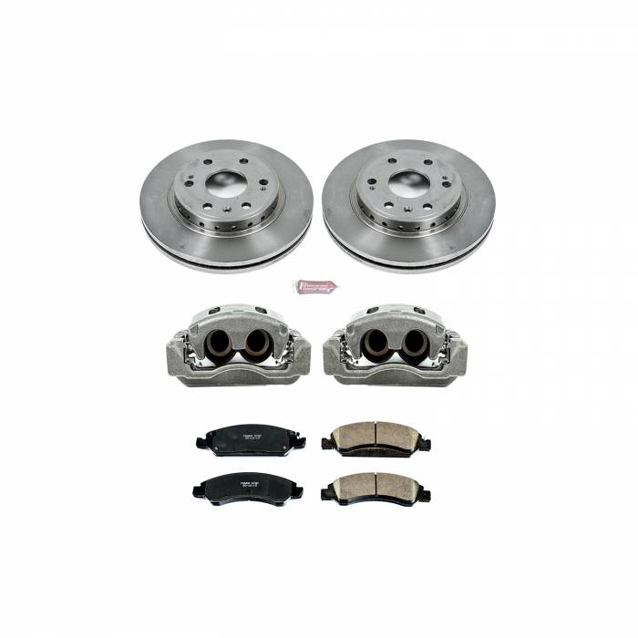 Power Stop - Autospecialty By Power Stop 1-Click OE Replacement Brake Kit w/Calipers   Power Stop (KCOE5519)