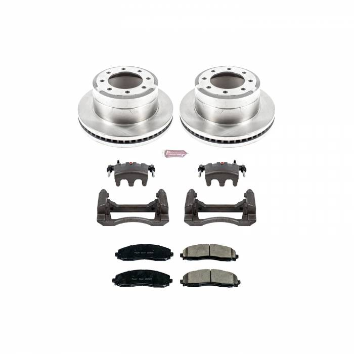 Power Stop - Autospecialty By Power Stop 1-Click OE Replacement Brake Kit w/Calipers | Power Stop (KCOE6407)