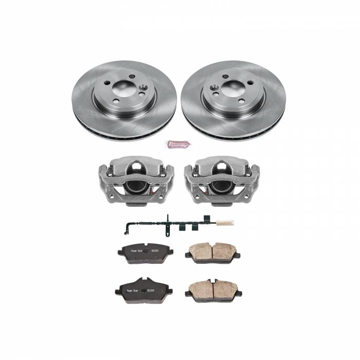 Power Stop - Autospecialty By Power Stop 1-Click OE Replacement Brake Kit w/OE Calipers | Power Stop (KCOE6066)