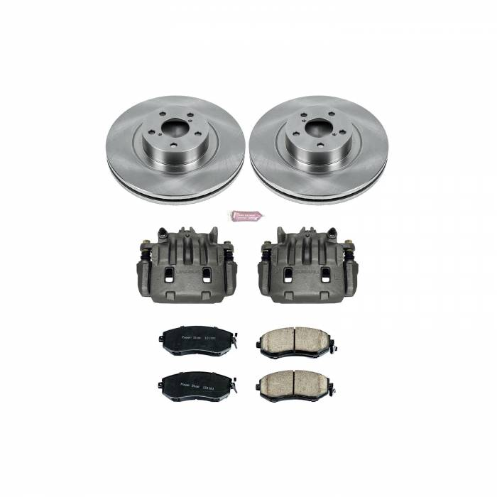 Power Stop - Autospecialty By Power Stop 1-Click OE Replacement Brake Kit w/Calipers | Power Stop (KCOE6082A)