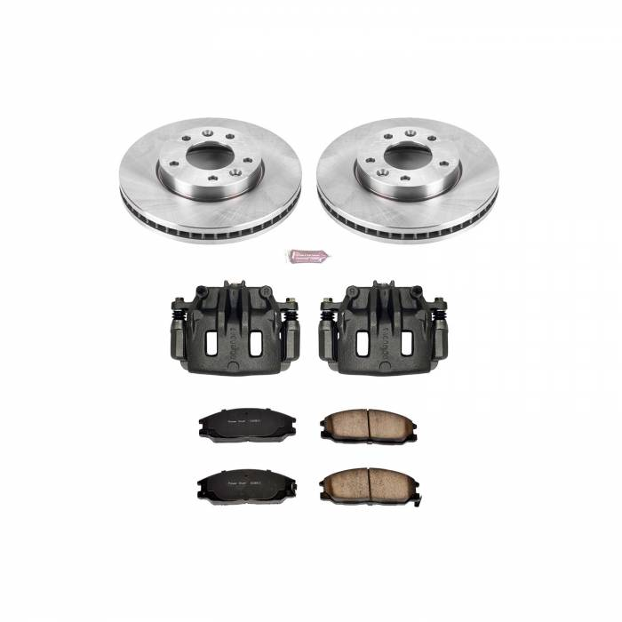Power Stop - Autospecialty By Power Stop 1-Click OE Replacement Brake Kit w/Calipers | Power Stop (KCOE6108)