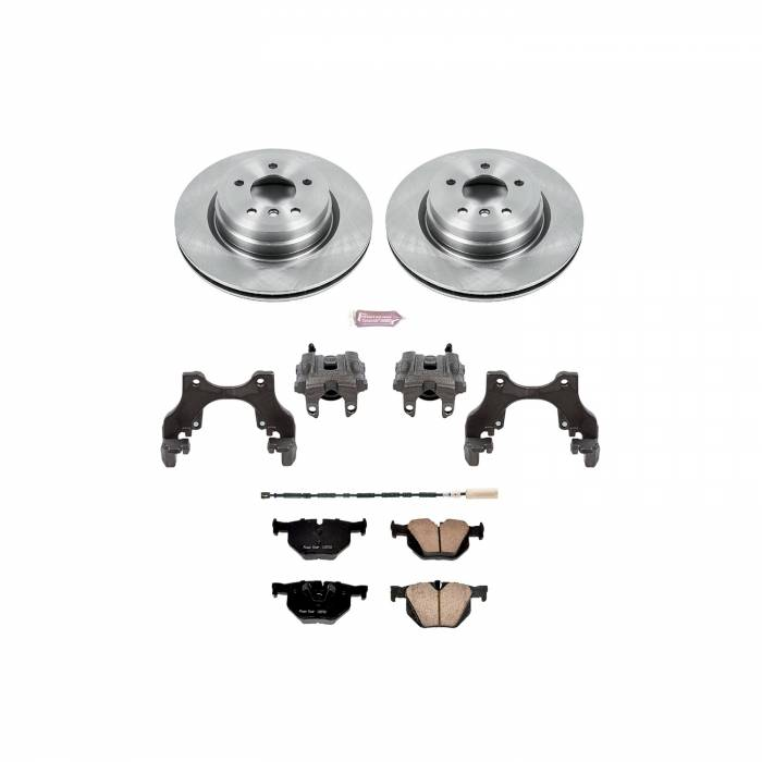 Power Stop - Autospecialty By Power Stop 1-Click OE Replacement Brake Kit w/Calipers | Power Stop (KCOE7009)