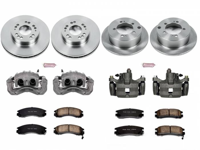 Power Stop - Autospecialty By Power Stop 1-Click OE Replacement Brake Kit w/Calipers | Power Stop (KCOE802)
