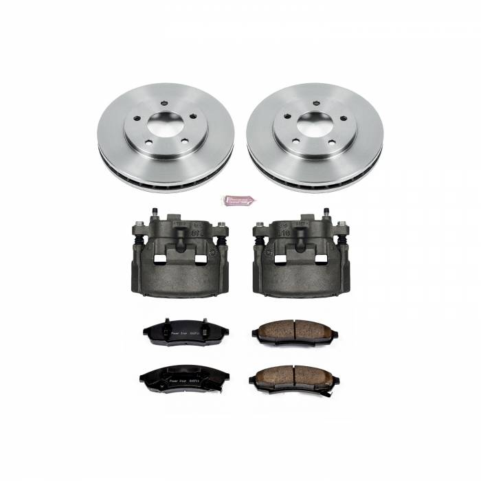 Power Stop - Autospecialty By Power Stop 1-Click OE Replacement Brake Kit w/Calipers | Power Stop (KCOE1498)