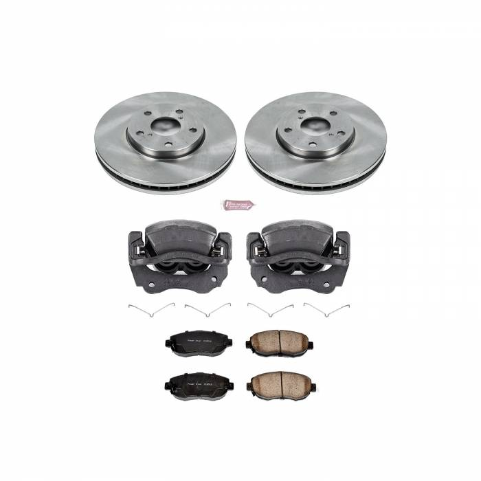Power Stop - Autospecialty By Power Stop 1-Click OE Replacement Brake Kit w/Calipers | Power Stop (KCOE1077A)