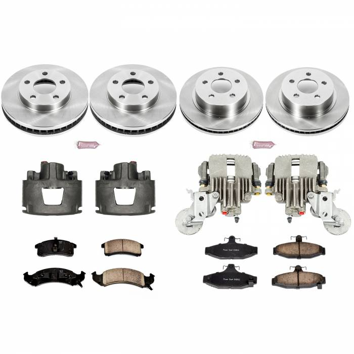 Power Stop - Autospecialty By Power Stop 1-Click OE Replacement Brake Kit w/Calipers | Power Stop (KCOE1533)