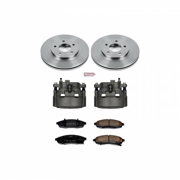 Power Stop - Autospecialty By Power Stop 1-Click OE Replacement Brake Kit w/Calipers | Power Stop (KCOE3018)