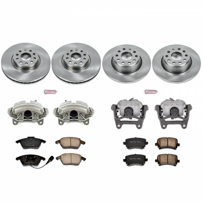 Power Stop - Autospecialty By Power Stop 1-Click OE Replacement Brake Kit w/Calipers | Power Stop (KCOE2260D)