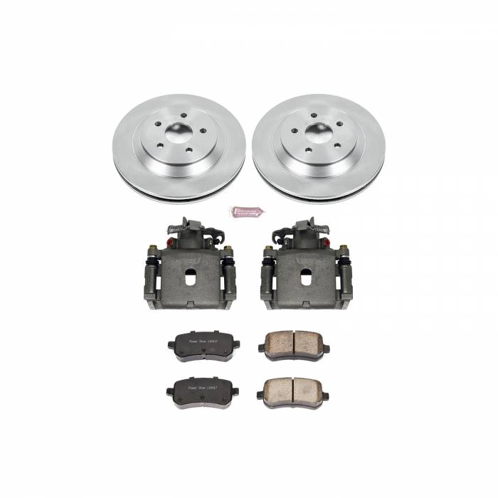 Power Stop - Autospecialty By Power Stop 1-Click OE Replacement Brake Kit w/Calipers   Power Stop (KCOE3061)