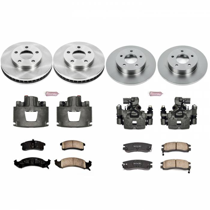 Power Stop - Autospecialty By Power Stop 1-Click OE Replacement Brake Kit w/Calipers | Power Stop (KCOE2760A)