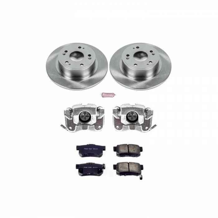 Power Stop - Autospecialty By Power Stop 1-Click OE Replacement Brake Kit w/OE Calipers | Power Stop (KCOE3128A)