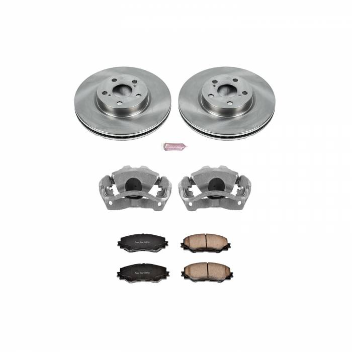Power Stop - Autospecialty By Power Stop 1-Click OE Replacement Brake Kit w/Calipers | Power Stop (KCOE4669)