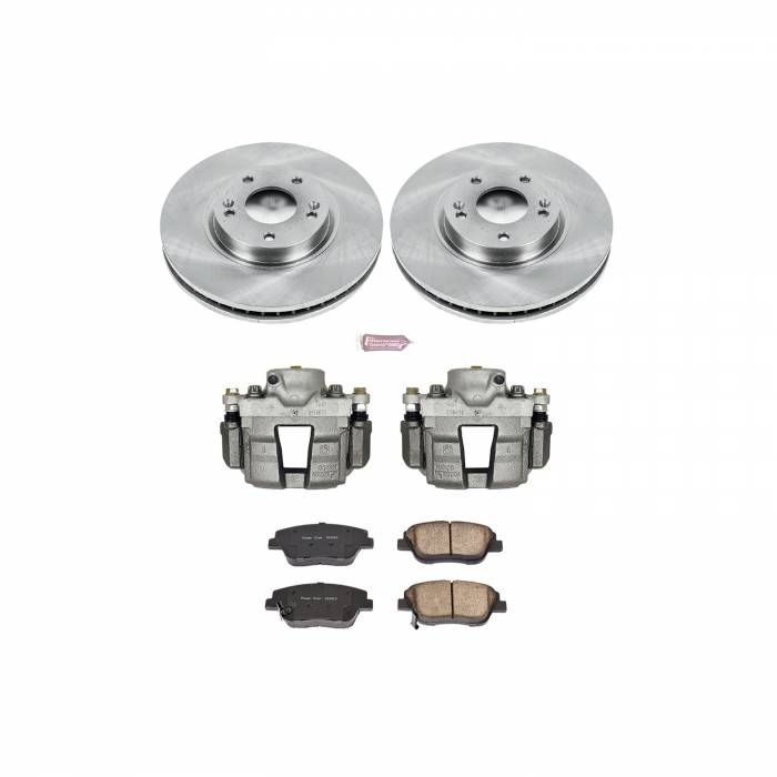 Power Stop - Autospecialty By Power Stop 1-Click OE Replacement Brake Kit w/Calipers | Power Stop (KCOE5377)