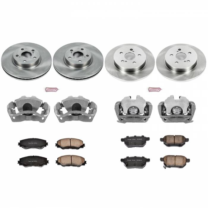 Power Stop - Autospecialty By Power Stop 1-Click OE Replacement Brake Kit w/Calipers | Power Stop (KCOE4140)