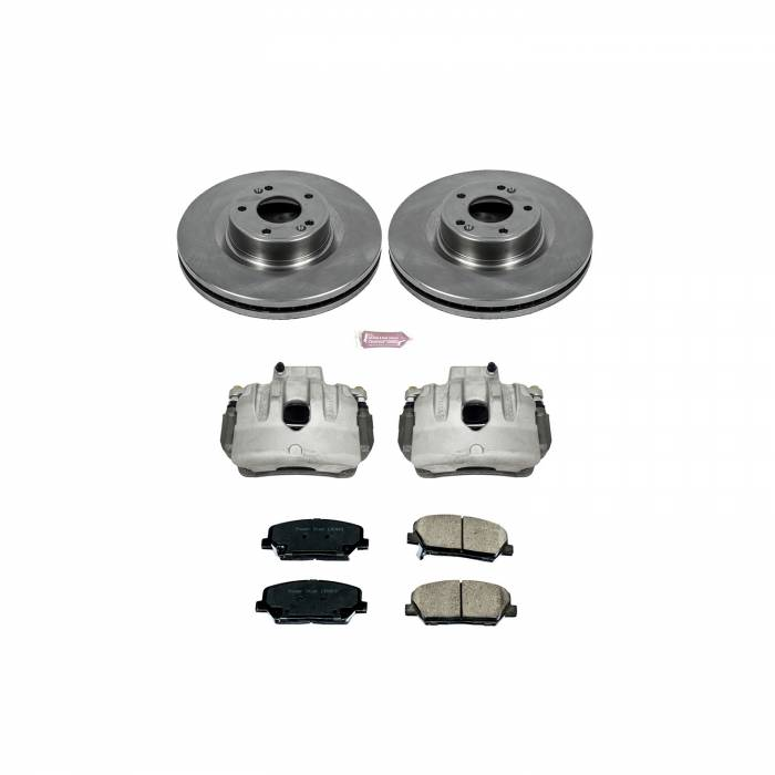 Power Stop - Autospecialty By Power Stop 1-Click OE Replacement Brake Kit w/Calipers | Power Stop (KCOE6169)