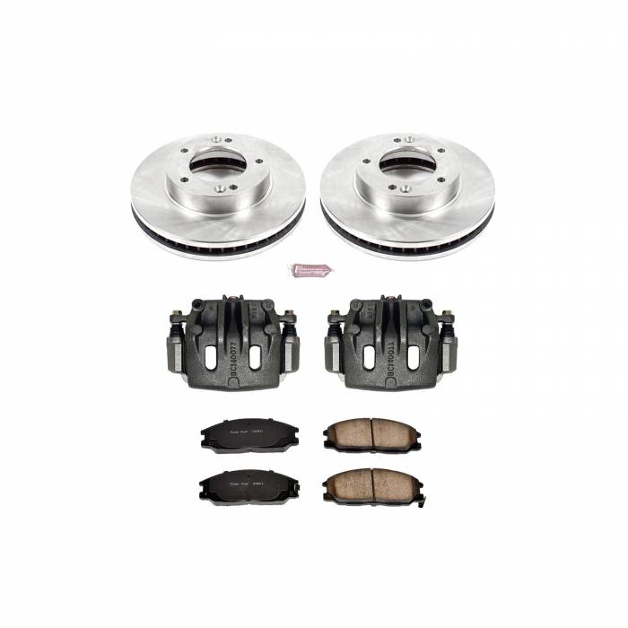 Power Stop - Autospecialty By Power Stop 1-Click OE Replacement Brake Kit w/Calipers | Power Stop (KCOE5899)